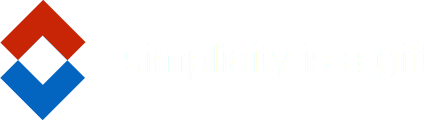 simplicity is a gift (white text)